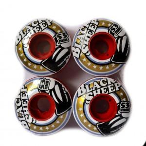 Roda Black Sheep Color - Vermelha 53mm