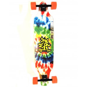 Longboard Wood Light ASSIMÉTRICO REGGAE TIE DYE