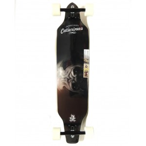 Longboard Wood Light ASSIMÉTRICO REGGAE CATIORINEOS PUG