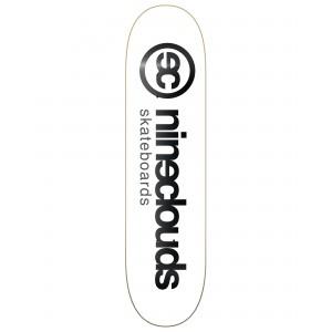 SHAPE NINECLOUDS FULL LOGO WHITE 8.0