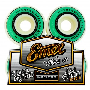 Rodas Emex 102A DUO 52mm